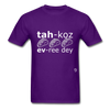Tacos Every Day T-Shirt - purple