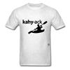 Kayak T-Shirt - light heather grey