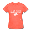Elephant Sanctuary T-Shirt - heather coral