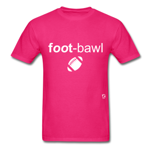 Football T-Shirt - fuchsia