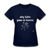 I Love Unicorns T-Shirt - navy