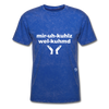 Miracles Welcomed T-Shirt - mineral royal