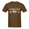 America T-Shirt - brown