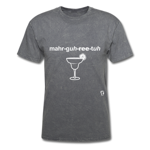 Margarita T-Shirt - mineral charcoal gray