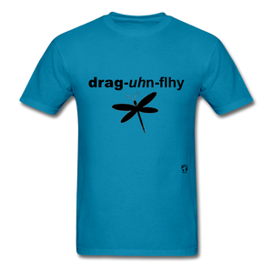Dragonfly T-Shirt - turquoise