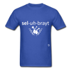 Celebrate T-Shirt - royal blue