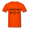 Wild Cats T-Shirt - orange