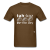 Tacos Every Day T-Shirt - brown