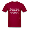 Love One Another T-Shirt - dark red