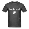 Football T-Shirt - heather black