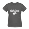 Elephant Sanctuary T-Shirt - charcoal