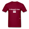 Equality T-Shirt - burgundy