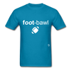 Football T-Shirt - turquoise