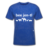 Be Gentle T-Shirt - mineral royal