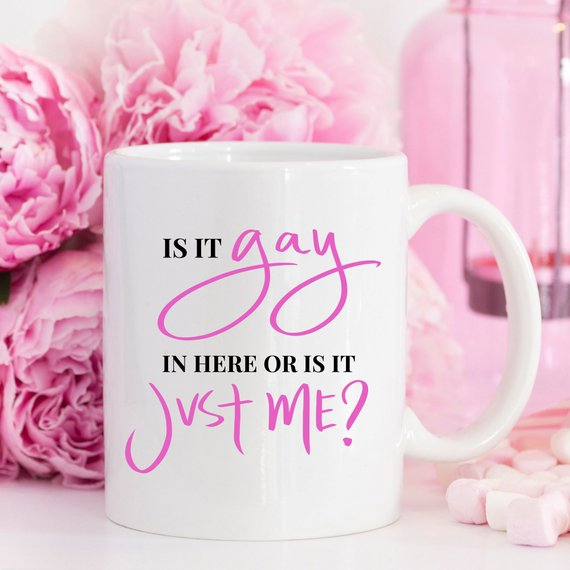 Gay Pride Mug, Gay Pride Gifts, Gay Gift, Coming