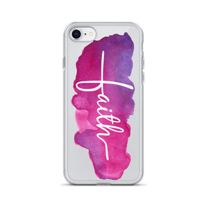 Vertical Faith iPhone Case