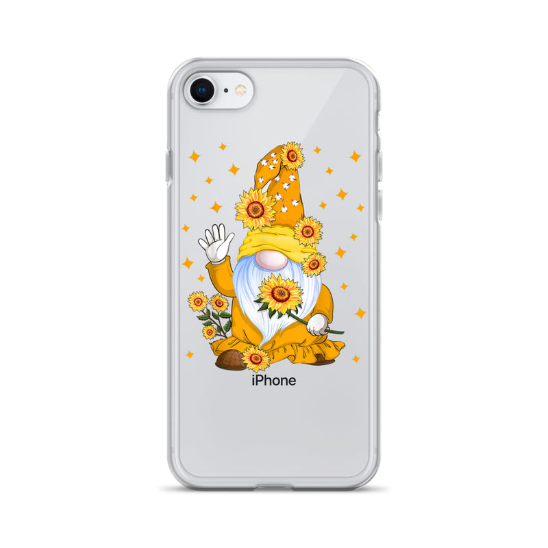 Sunflower Gnome iPhone Case