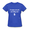 Financial Advisor T-Shirt - royal blue