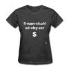 Financial Advisor T-Shirt - heather black