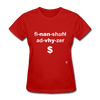 Financial Advisor T-Shirt - red
