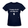 Financial Advisor T-Shirt - navy