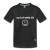 Optimistic Kids' Premium T-Shirt - black