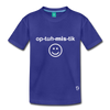 Optimistic Kids' Premium T-Shirt - royal blue