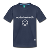 Optimistic Kids' Premium T-Shirt - navy
