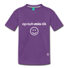 Optimistic Kids' Premium T-Shirt - purple