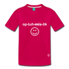 Optimistic Kids' Premium T-Shirt - dark pink