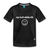 Optimistic Kids' Premium T-Shirt - charcoal gray