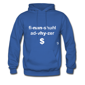Financial Advisor Hoodie - royal blue