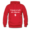 Financial Advisor Hoodie - red
