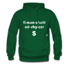Financial Advisor Hoodie - forest green