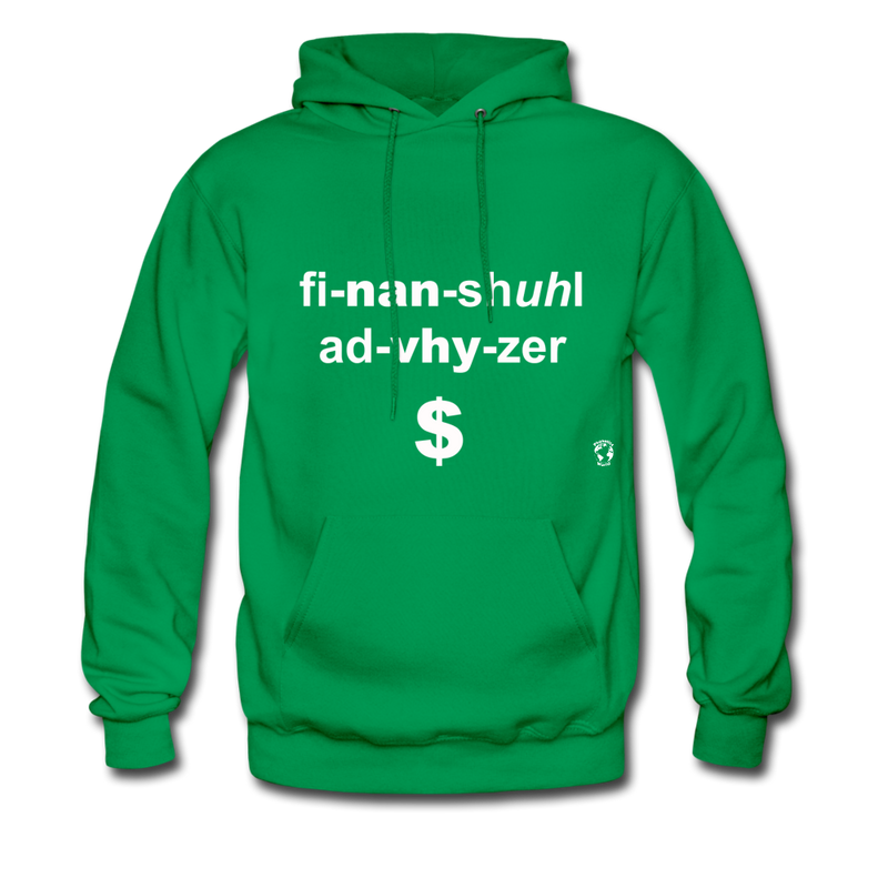 Financial Advisor Hoodie - kelly green
