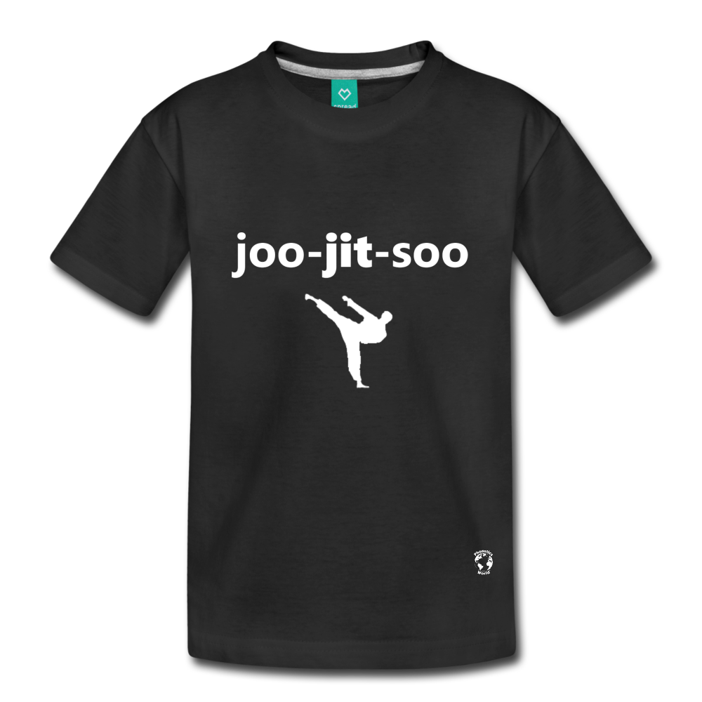 Jiujitsu Kids' Premium T-Shirt - black