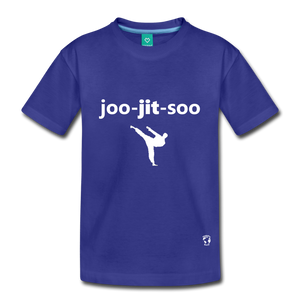 Jiujitsu Kids' Premium T-Shirt - royal blue