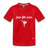 Jiujitsu Kids' Premium T-Shirt - red