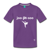 Jiujitsu Kids' Premium T-Shirt - purple