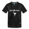 Jiujitsu Kids' Premium T-Shirt - charcoal gray