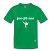 Jiujitsu Kids' Premium T-Shirt - kelly green