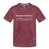 Animal Lover Kids' Premium T-Shirt - heather burgundy