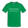 Animal Lover Kids' Premium T-Shirt - kelly green
