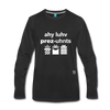 I Love Presents Premium Long Sleeve T-Shirt - black