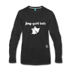 Jingle Bells Premium Long Sleeve T-Shirt - black