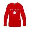 Jingle Bells Premium Long Sleeve T-Shirt - red