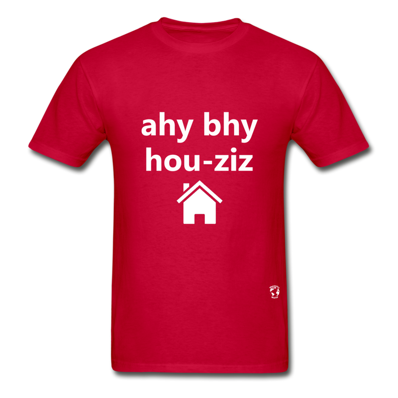 I Buy Houses Hanes Adult Tagless T-Shirt - red