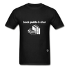 Book Publisher Tagless T-Shirt - black
