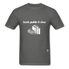 Book Publisher Tagless T-Shirt - charcoal
