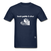 Book Publisher Tagless T-Shirt - navy